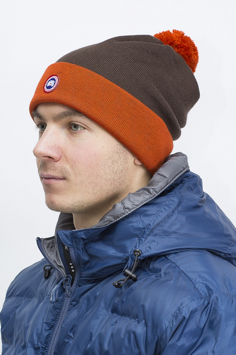 Шапка Removable Pom Logo Toque Canada Goose